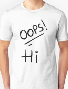 Oops! Hi - Larry Stylinson Tattoos Unisex T-Shirt