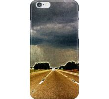 { Florida grainy storm } iPhone Case/Skin