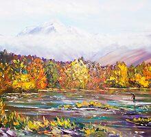 Autumn Mountains by HelenBlair