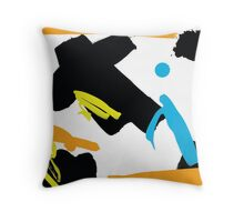 Ordered Imagination Throw Pillow