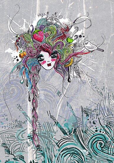 [ Lexy Dreams of Fruit & Colours ] by Tiffany Atkin