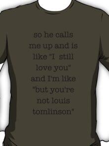 Louis Tomlinson 1D Design T-Shirt