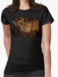 """La Notte di Roma - Rome Italy"" Womens Fitted T-Shirt"