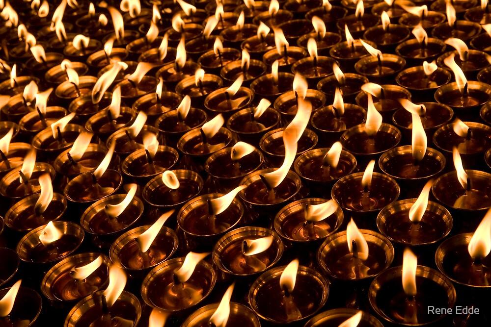 Endless Butter Lamps by Rene Edde