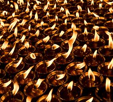 Endless Butter Lamps by Rene Edde