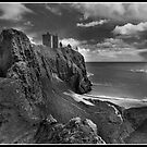 Dunnottar Castle a different look by Shaun Whiteman