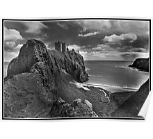 Dunnottar Castle a different look Poster