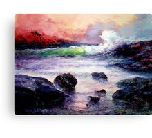 Fire and Water 1.0  Canvas Print
