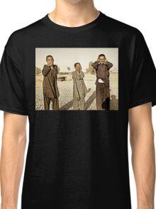 """Hear No Evil, See No Evil, Speak No Evil - Kandahar Afghanistan"" Classic T-Shirt"