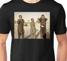 """Hear No Evil, See No Evil, Speak No Evil - Kandahar Afghanistan"" Unisex T-Shirt"