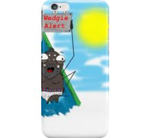 The spider's mistake iPhone Case/Skin