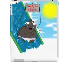 The spider's mistake iPad Case/Skin