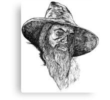 Gandalf The Gray Art Canvas Print