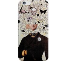 the white flower iPhone Case/Skin