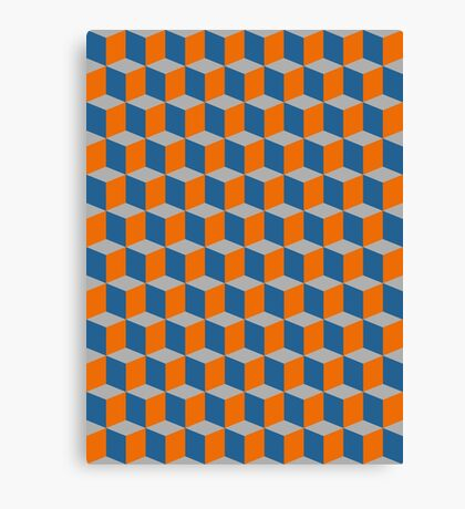 Cube Madness Canvas Print