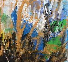 Golden Wetlands  by RitaReed