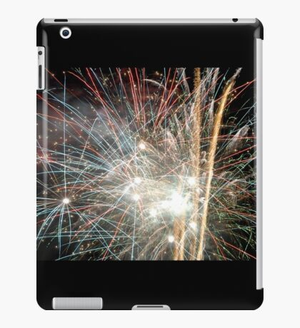 Night light sparkles a colourful delight iPad Case/Skin
