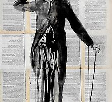 charlie (the little tramp) by Loui  Jover
