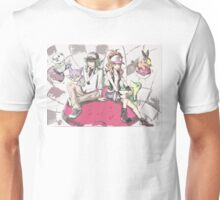 Another version of N, Hilda and Unova Starters Unisex T-Shirt