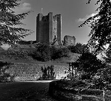 Conisbrough Castle by frank Yule