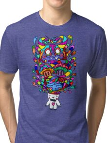 Demons in my Head Tri-blend T-Shirt