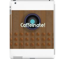 Dalek needs coffee! iPad Case/Skin