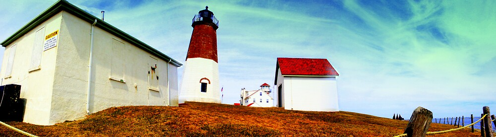 Pt Judith Lighthouse RI by rtographsbyrolf