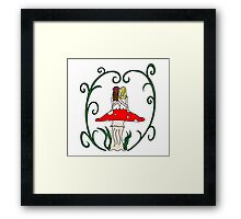 Faerie Love Framed Print