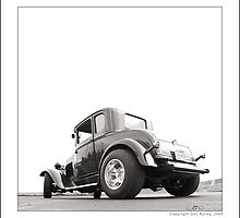 """""""Hot Rod Ford at Top Gun II"""" by Don Bailey"""