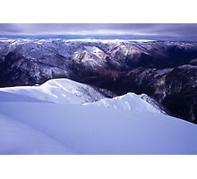 Spur on Mt Feathertop Photographic Print
