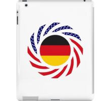German American Multinational Patriot Flag Series iPad Case/Skin