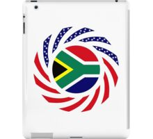 South African American Multinational Patriot Flag Series iPad Case/Skin