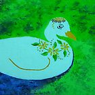 Dainty duck by Rina Botha