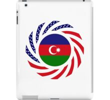 Azerbaijani American Multinational Patriot Flag Series iPad Case/Skin