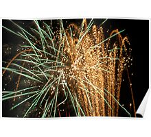 Night light sparkles a colourful delight Poster