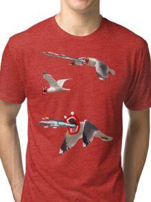 Lazer seagull Tri-blend T-Shirt