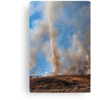 Yucaipa Fire, Crafton Hills 4/27/15 Canvas Print