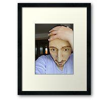 Dibbles torment... Framed Print