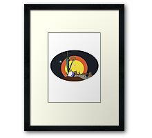 Final Fantasy X Opening Vector (Adjusted No Clouds) Framed Print