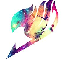 Galaxy Fairy Tail Logo Photographic Print
