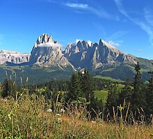 The Dolomites, Italy by Trine