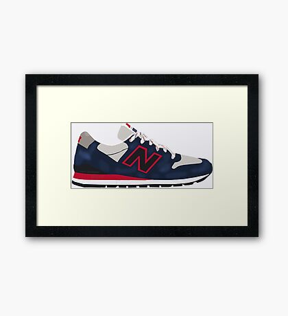 "New Balance 996 ""Connoisseur"" Framed Print"