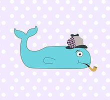 Detective Whale by bitobots