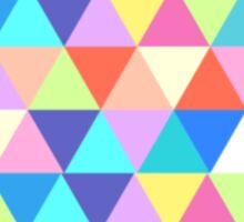 Arizona Colorful Hipster Geometric Triangles Sticker