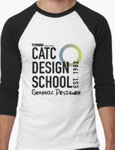 CATC Design School Graphic Designer Men's Baseball ¾ T-Shirt