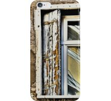 ANCIENT SHUTTERS - NEW WINDOW - CURRENT REFLECTION iPhone Case/Skin