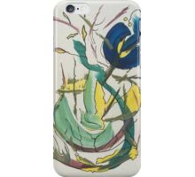 electric flower iPhone Case/Skin