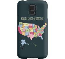 Kawaii States of America Samsung Galaxy Case/Skin