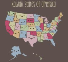 Kawaii States of America One Piece - Short Sleeve