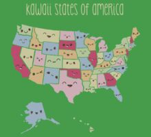 Kawaii States of America Kids Clothes